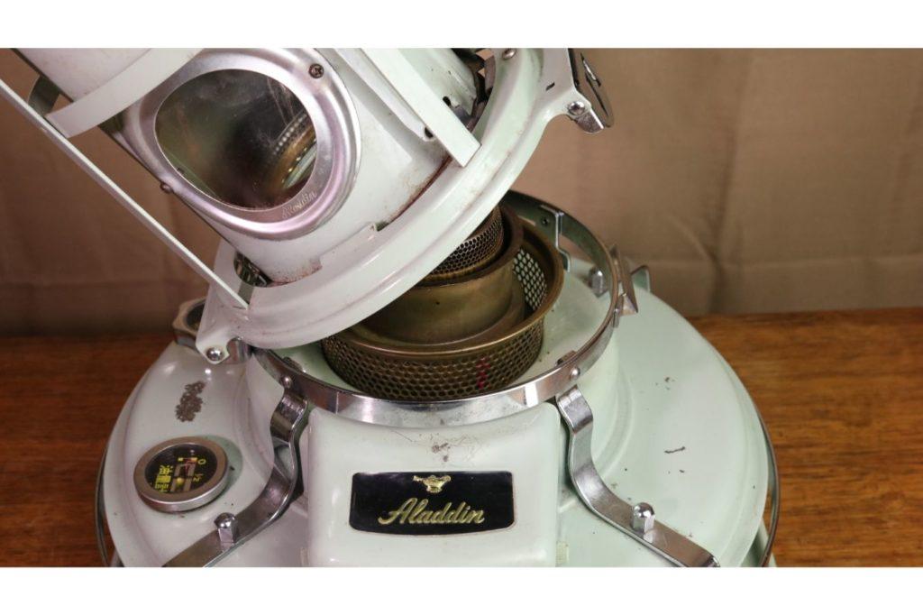 アラジンストーブ39型芯交換